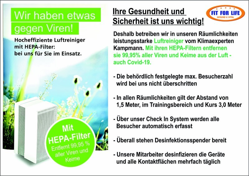 fit for life gegen corona